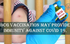 BCG Vaccination May Provide Immunity Against COVID 19.
